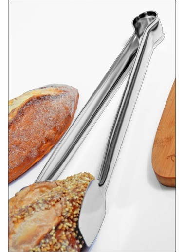 Kitchen Love 24Cm-Paslanmaz Çelik Izgara Maşası Renkli